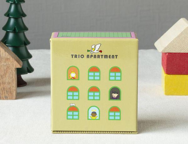 いろいろな国の子どもたちが25人! 『TRIO APARTMENT(トリオ・アパートメント)』ってどんなゲーム?