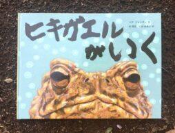 あふれんばかりのいのちが圧巻!生き物の力強さがみなぎる韓国絵本『ヒキガエルがいく』