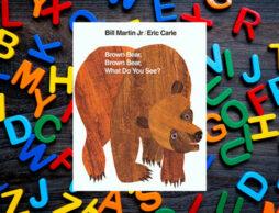 【絵本ナビえいご】エリック・カールの英語絵本Brown Bear, Brown Bear, What Do You See? を英語で発音しよう!