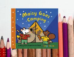 【絵本ナビえいご】英語絵本Maisy Goes Camping「メイシーちゃんのたのしいキャンプ」を英語で発音しよう!