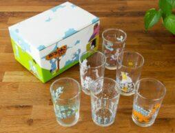 人気絵本「11ぴきのねこ」シリーズより、涼しげなグラスが登場♪数量限定セットはギフトボックス入り