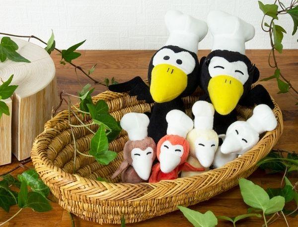 全員集合!『からすのパンやさん』子どもたちのマスコット登場で仲良し家族が揃いました♪