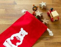 期間限定!ただいま「しろくまオリジナル巾着 レッド」プレゼントキャンペーン実施中です♪